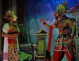 Topeng Dalang seni tradisi Madura yang merakyat