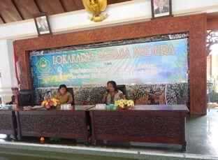 Lokakarya Bahasa Madura di Pendopo Pamekasan