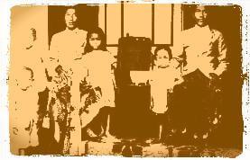 Keluarga peranakan Cina di Pasongsongan, Sumenep (1920)