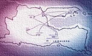 Peta Perjalan Karir Banyak Wide/Arya Wiraraja